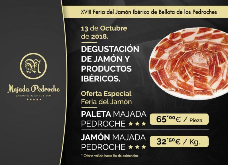 XVIII EDICIÓN DE LA FERIA DEL JAMÓN IBÉRICO DE BELLOTA DE LOS PEDROCHES