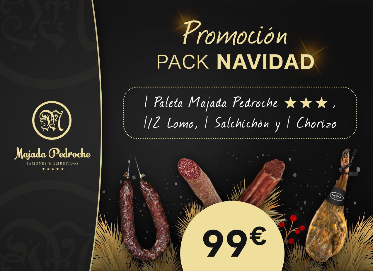 PROMOCIÓN NAVIDAD de Ibéricos Majada Pedroche